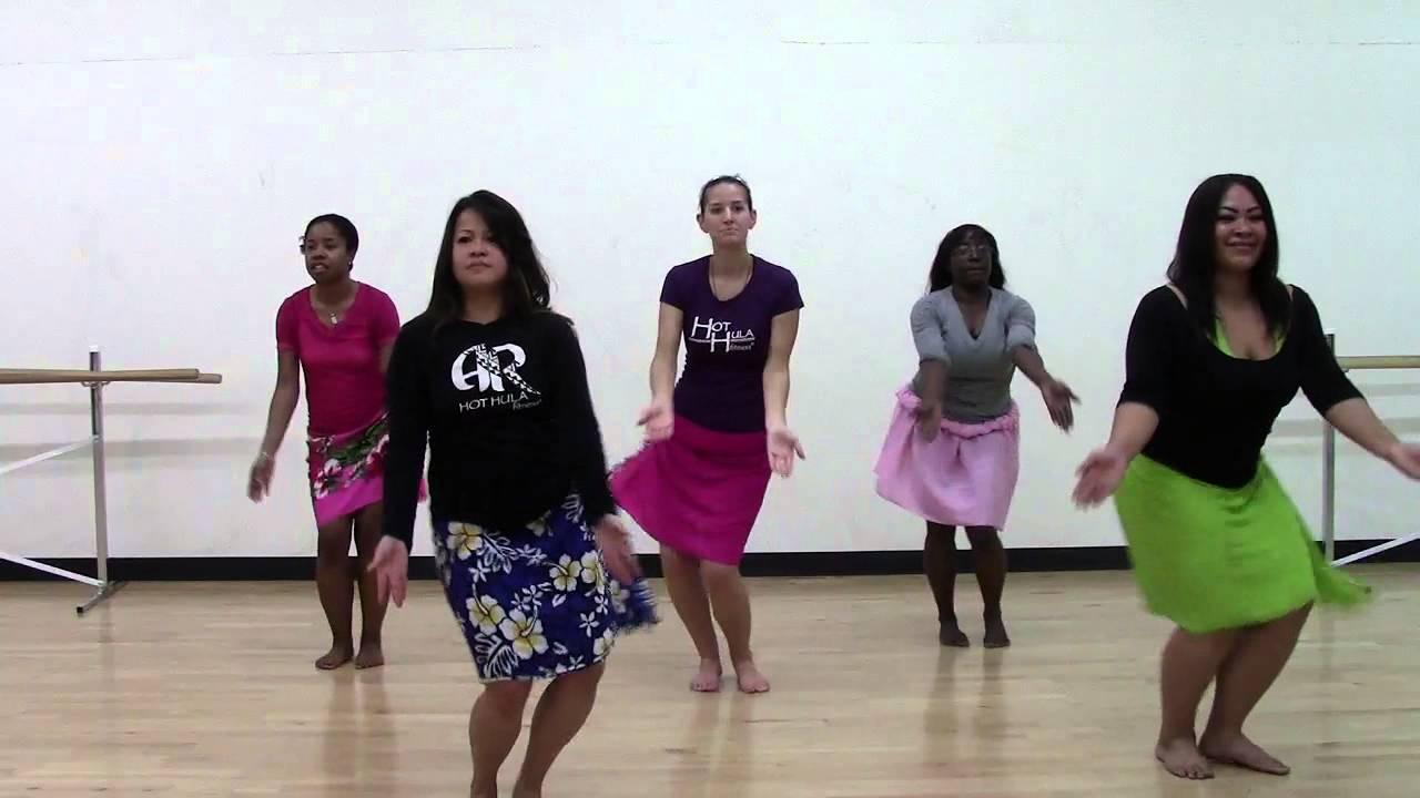 HOT HULA fitness Dance Workout - Week 7 - Part 1