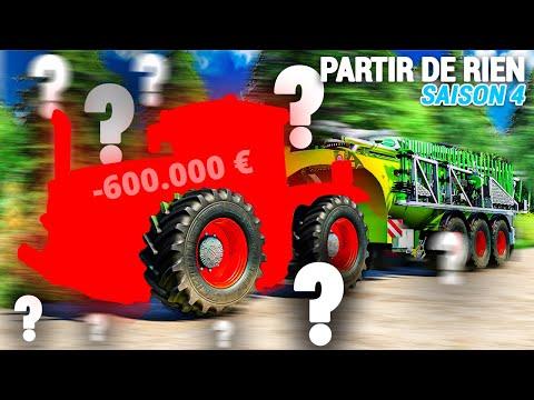 NOTRE NOUVEAU MONSTRE !   Partir De Rien S4 #52 (Farming Simulator 19)