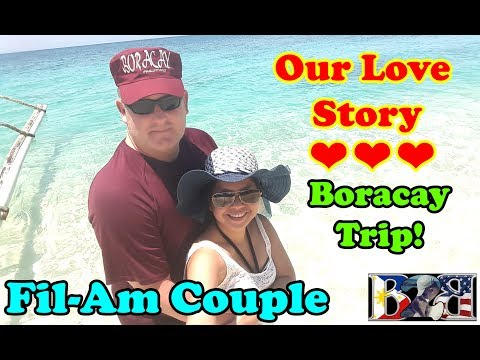 FILIPINA - AMERICAN LOVE STORY | His 3rd Visit to Philippines