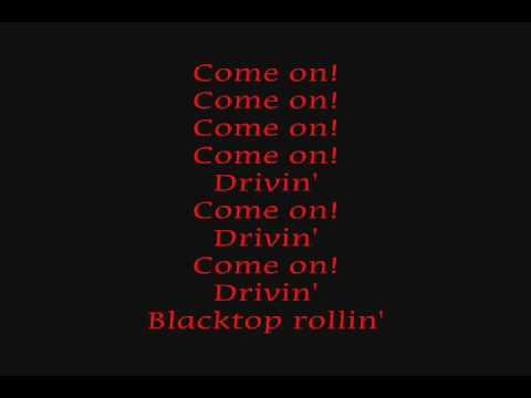 rob zombie - two-lane blacktop (lyrics)