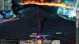 Final Fantasy XIV A Realm Reborn Ultima Weapon Hard Mode Dragoon Gameplay Attempt 4 of 6