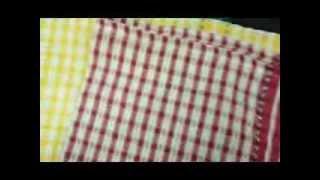 Nusso Textiles 100% cotton kitchen towels