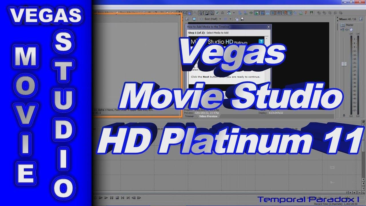 Cheap Sony Vegas Movie Studio Hd Platinum 11