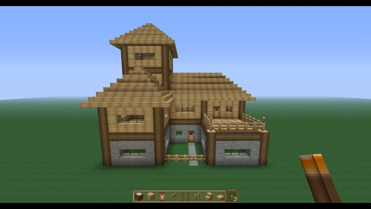 Perfect Minecraft Survival House Tutorial YouTube - Coole minecraft hauser tutorial
