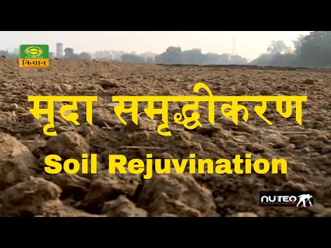 मृदा समृद्धीकरण  Soil Rejuvination through Organic Farming