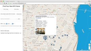 Google Maps APIs: Location Features in Web Sites thumbnail