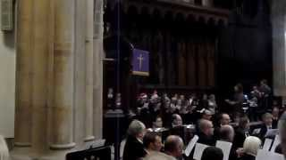 Christmas Carol (O Come All Ye Faithful) at St Mary Magdalene Church in Newark