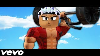 ROBLOX MUSIC VIDEO - THE BULLY WITH A PURPOSE (WEIGHT LIFTING SIMULATOR 2)