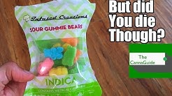 Weed Gummies! Infused Creations 300mg Indica - Canna Guide Review