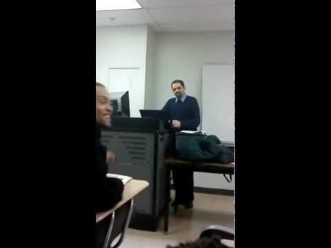 My eng professor. Laguardia