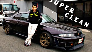 CLEANEST LP2 1995 GT-R R33 in JAPAN?!