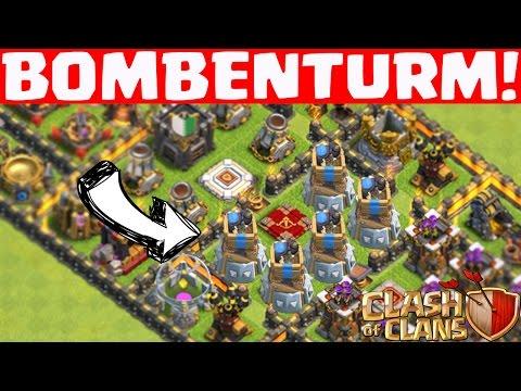 [idee] NEUES GEBÄUDE: BOMBENTURM - CLASH OF CLANS || Let's Play CoC [Deutsch/German HD+]