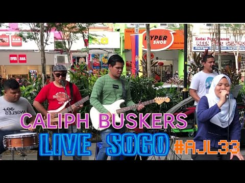 Caliph Buskers Mashup 12 Lagu Anugerah Juara Lagu #ajl33 depan SOGO