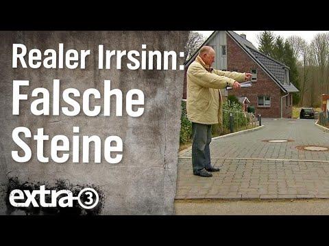 Realer Irrsinn: Falsche Pflastersteine in Kiel | extra 3 | NDR