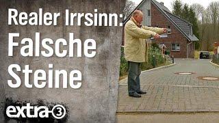 Realer Irrsinn: Falsche Pflastersteine in Kiel