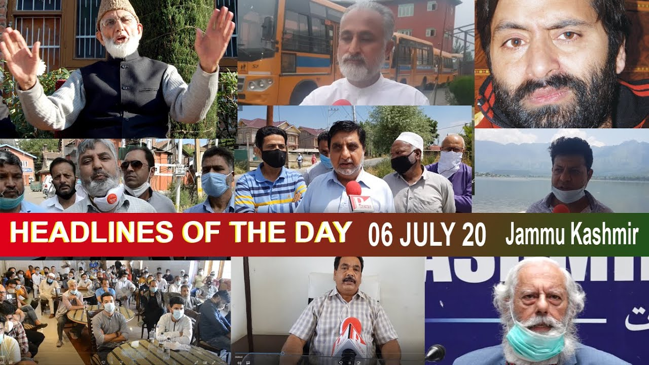 HEADLINES OF THE DAY | 06 JUNE 20