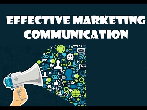 Effective Marketing Communication