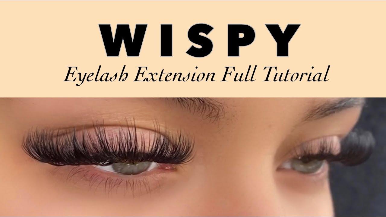 Download WISPY EYELASH EXTENSIONS
