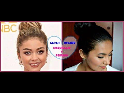 MAQUILLAJE Y PEINADO INSPIRADOS EN SARAH HYLAND / SARAH HYLAND INSPIRED HAIR & MAKEUP