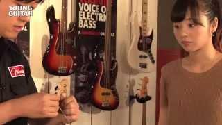 乃木坂46の川村真洋がチャレンジ! 日々、熱心にギターの練習に励むろってぃー。あれあれ…でも弦が切れてしまったみたい! さてどうする…