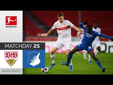 VfB Stuttgart - TSG Hoffenheim | 2-0 | Highlights | Matchday 25 – Bundesliga 2020/21