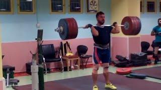 Kianoush Rostami — 221 kg Clean & Jerk