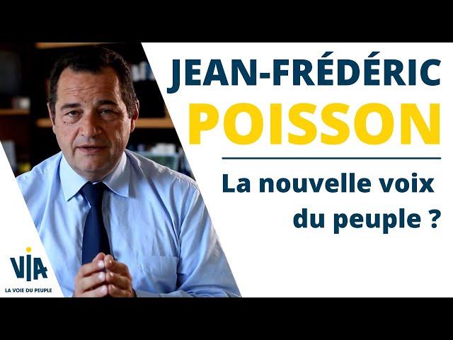 J.F POISSON   La nouvelle voix du peuple ?