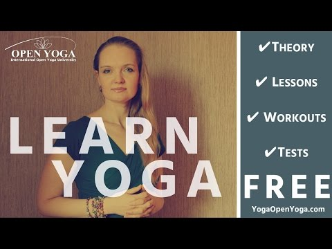 FREE YOGA LESSON, CLASS & STUDIES. Yoga teacher training course for beginners Online Yoga materials