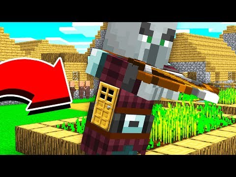 HOW TO LIVE INSIDE AN EVIL VILLAGER IN MINECRAFT!