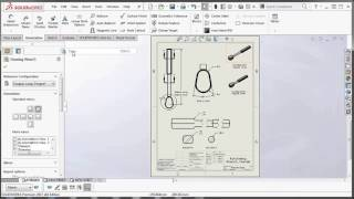 SOLIDWORKS - Copying and Pasting Drawings Views