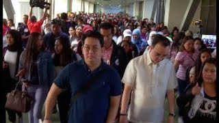DFA welcomes 216 repatriated OFWs from Kuwait