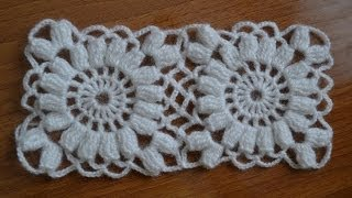 ��� ��������� �������� ��� ���� (How to join the squares for shawls)