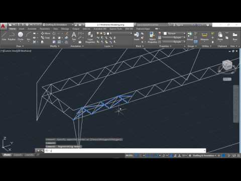 2.1.3: 3D Wireframe Modeling