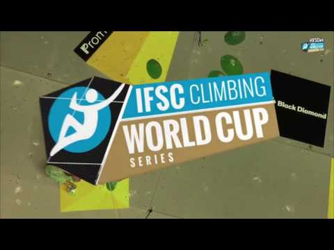 IFSC Climbing World Cup Briançon 2016   Lead   Semifinals   Men   Sean Mccoll mp4