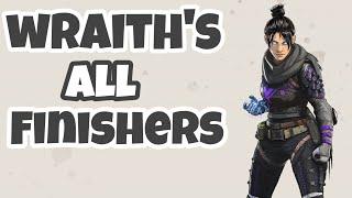 Wraith finishers