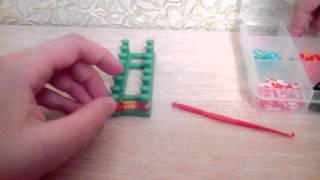 Видео урок плетение из резиночек урок #1