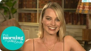 Margot Robbie Had a Dialect Coach on Neighbours Because Her Accent Was Too Strong! | This Morning