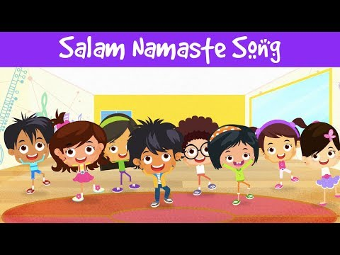 Salaam Namaste Song | Hello in India | Rhymes For Children | Indian Culture | Jalebi Jingles