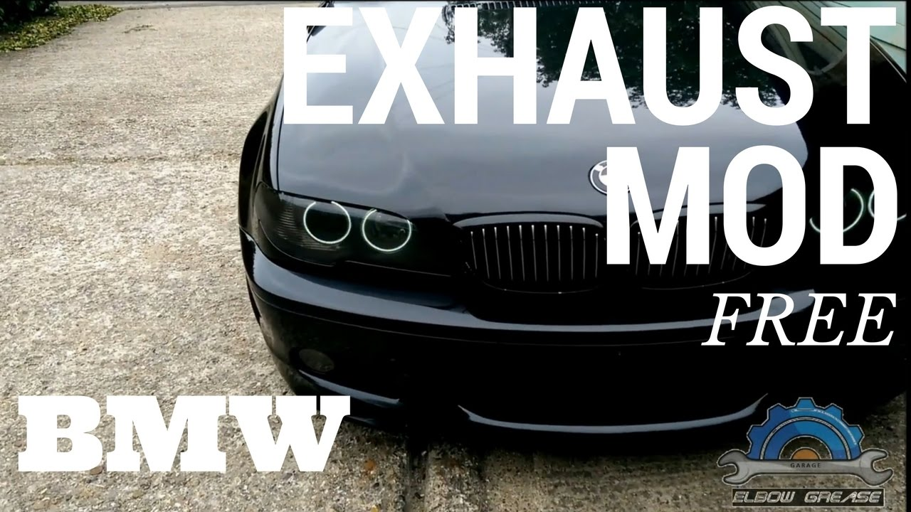 Exhaust Mod Free Bmw E46 No Cutting Welding Not Golf Tee Youtube 2003 330i Fuse Box