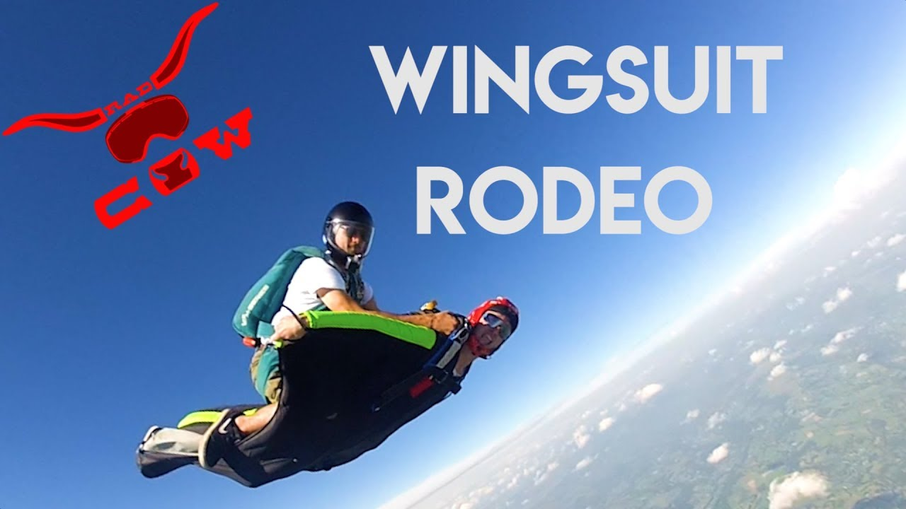 La radcow army s 39 empare du ciel skydive wingsuit rodeo youtube - Military wingsuit ...