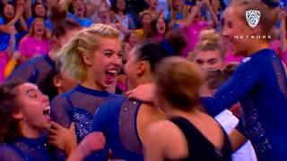 UCLA's Kyla Ross completes the 'Gym Slam'