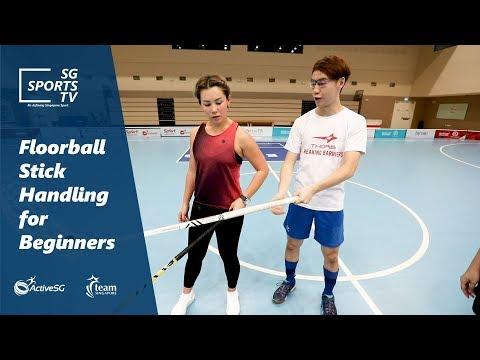 #Floorball101: Floorball Stick Handling Technique For Beginners
