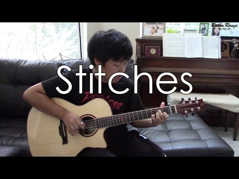Guitar guitar cover with tabs : Shawn Mendes) Stitches - [Free Tabs] Fingerstyle Guitar Cover ...