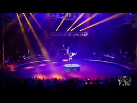 TRIO BLACK DIAMONDS (Ethiopia, Handstand) - 18th International Circus Festival of Italy (2016)
