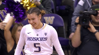 Highlights: No. 7 UW ties conference single-game record in Pac-12 play with 18 3's