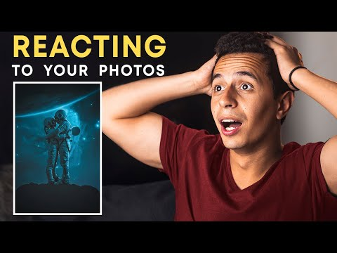 Photoshop Artist REACTS To Your EPIC Photoshop Art