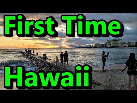First Time Hawaii Waikiki Beach