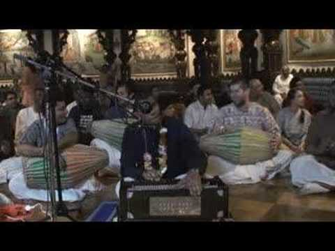 New Year's Eve Bhajan - Anish - Hare Krishna - 1/16