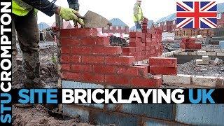 Site Bricklaying UK House Footings