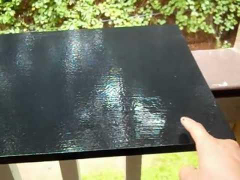 How To Repaint A Desk Pressboard DIY  YouTube